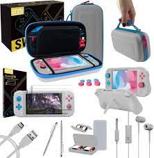 Amazon.com: Orzly Switch Lite Accessories Bundle - Case & Screen Protector  for Nintendo Switch Lite Console, USB Cable, Games Holder, Grip Case,  Headphones, Thumb-Grip Pack & More (Gift Pack - Z&Z Edition):