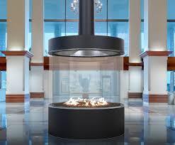 custom fireplace designs. acucraft circular commercial custom gas fireplace designs