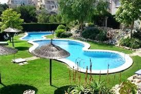Backyard Pools Designs Beauteous Swimming Pool Ideas For Backyard Swimming Pool Backyard Images