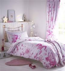 girls bedding pink fairy princess duvet