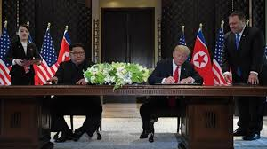 Image result for new york times trump kim summit