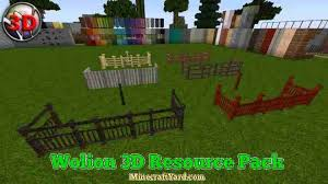 Wolion 3d Resource Pack 1 13 1 1 13 1 12 2 1 11 2 1 10 2 Minecraft