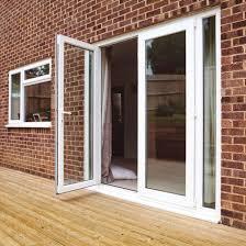 plastic frame security glass fire main door french door
