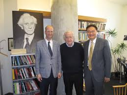 meeting noam chomsky on circles and squares i corresponded