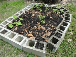 Small Picture Concrete Block Raised Garden Beds Gardening Ideas