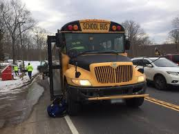 Pickup Truck Hits School Bus In Tolland | Tolland, CT Patch