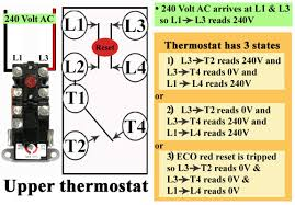 apcom thermostat wiring diagram wiring diagram schematics how to wire water heater thermostat