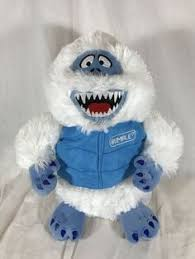 dan dee ble abominable snowman rudolph the red nosed reindeer plush stuffed dandee abominable snowman