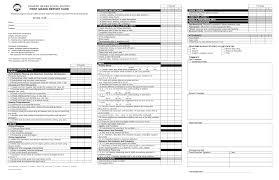 School Report Card Format Grade Report Template Under Fontanacountryinn Com