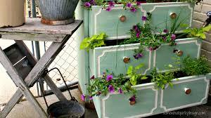 Small Garden Ideas Designs Ff Ghk Unique Diy Planters Dresser Planter S