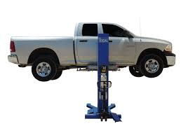 ideal msc 6klp mobile single column auto lift
