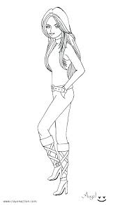 American Girl Coloring Pages Girl Coloring Page Girl Coloring Pages