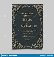 Simple Elegant Design Floral Wedding Invitation Template Simple And Elegant Design
