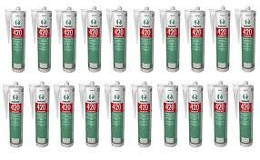 20 X Ramsauer 420 Kachelofen Acryl Sandbeige 1k Dichtstoff 310ml Kartusche