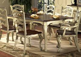 image of french country kitchen table and chairs
