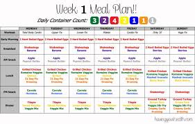 21 Day Fix Meal Chart Pin By Jessica Trujillo Lopez On 21 Day Fix Shakeology In