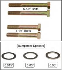 Tie Rod End Taper Chart How To Install Maximum Motorsports Bolt Through Style