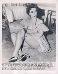 WonderClub 1954 Model Jeanne O Connor Beautiful Woman Sitting ...