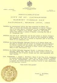 harriet tubman harriet tubman day 10 1990 view proclamation
