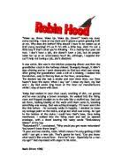 ned kelly essay gcse english marked by teachers com robin hood