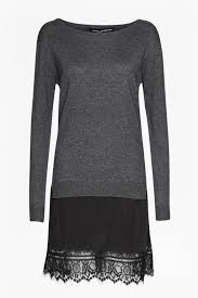 French Connection Size Chart Uk Melba Knits Long Sleeved Jumper Dress