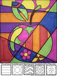 Small Picture APPLE Pop Art Interactive Coloring Sheet by Art with Jenny K TpT