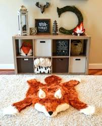 animal shaped nursery rugs for lovely kids area rug woodland animals print baby room elegant fox animal baby rugs for nursery