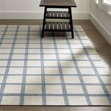 koen grid sky blue outdoor rug crate and barrel inside square rugs design 17