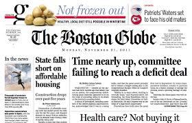 Newspaper Fonts Bostonglobe Com Fonts In Use