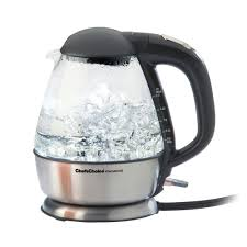 chef schoice 7 cup cordless electric kettle
