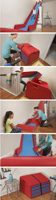 Awesome Products: A stair slide that converts your staircase into a  slippery dip - A Designer Life