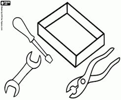 Kleurplaten Gereedschappen En Gebruiksvoorwerpen Kleurplaat