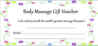 babysitting gift certificate template free birthday gift certificate printouts free printable massage coupon