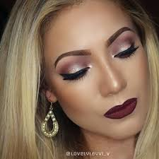 fall makeup look