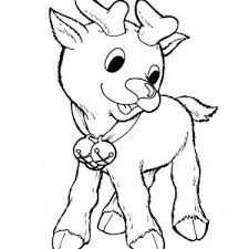 Small Picture Rudolph the Red Nosed Reindeer Happy Face Coloring Page Color Luna