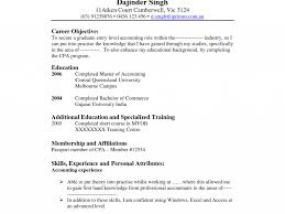 Surprising Accounting Resume Objective Inspiration Examples Of