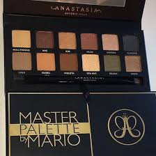 makeup by mario palette abhmasterpalette according to allure the palette will be released in october in america after mario and kim