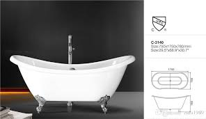 2018 hot easy clean new design acrylic bathtub with feet s reviews freestanding bathtub refinishing kit quality from zula1989 1386 94 dhgate