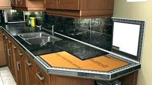 granite tile countertop granite tile ceramic tile new tile with wood edge ceramic diy granite tile
