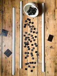 DIY Magnetic Letter Board. |The Art of Doing Stuff