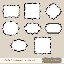 Labels With Border Free Label Border Cliparts Download Free Clip Art Free