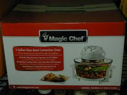 new magic chef 3 gallon convection countertop oven 665679010585