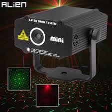 Star Light Laser Dancer Us 19 99 50 Off Alien Mini R G Laser Projector Stage Lighting Effect Red Green Star Light Disco Dj Club Bar Party Dance Holiday Show Lights In Stage