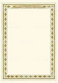 ornate gold frame border. Modren Ornate Ornate Gold Certificate Border Royaltyfree Ornate Gold Certificate Border  Stock Vector Art U0026amp On Frame
