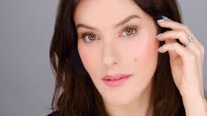 illuminated blush glow natural makeup look