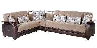 sectional sleeper sofa fabric. Exellent Fabric King Size Sectional Sleeper Sofa With Brown Upholstery Fabric For  Throughout Modern Design Bed Intended R