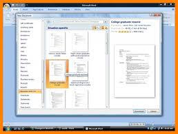 Resume Template Microsoft Word 2007 Ckum Ca