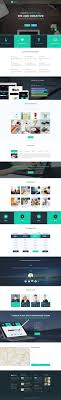 responsive psd website templates bies graphic creative landing page psd template