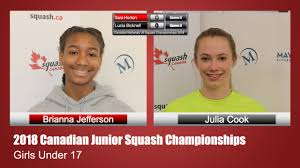 Brianna Jefferson vs. Julie Cook - YouTube