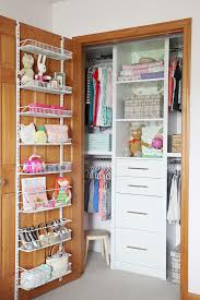 has the perfect solution for keeping tights scarves or belts organized and handy she glued these wooden clothespins directly to her closet wall